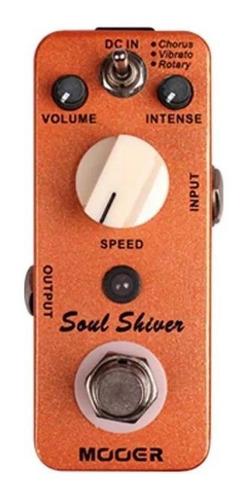 pedal de efecto de chorus mooer soul shiver