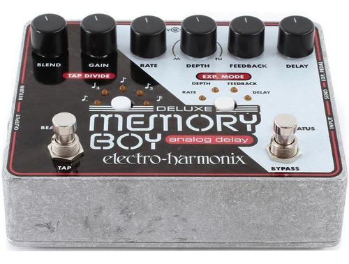 pedal de efecto delay con tap electro harmonix deluxe memory
