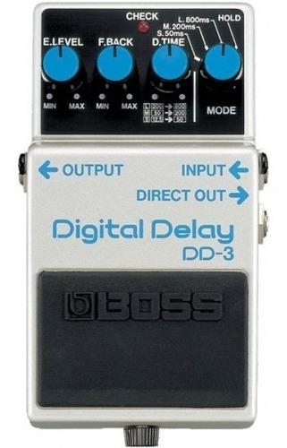 pedal de efecto digital delay dd3, boss