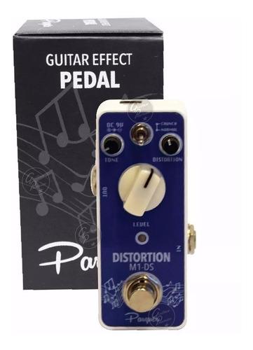 pedal de efecto distorsion t/ mooer guitarra electrica bajo