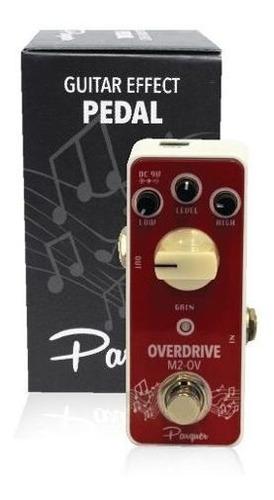 pedal de efecto guitarra electrica tipo overdrive parquer