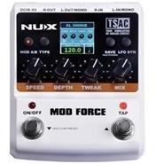 pedal de efecto multiples modulaciones nux mod force