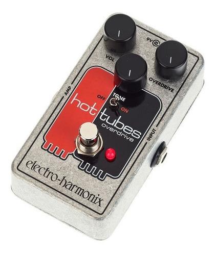 pedal de efecto overdrive electro harmonix hot tubes