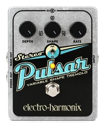 pedal de efecto pedal de tremolo electro harmonix stereo pul