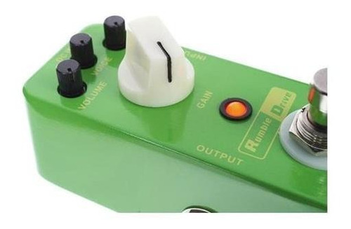 pedal de efecto smooth overdrive mooer rumble drive