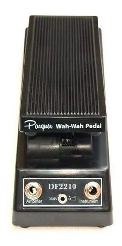 pedal de efecto wah wah parquer 1 entrada 1 salida