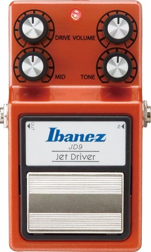 pedal de efectos ibanez jd9 jet driver