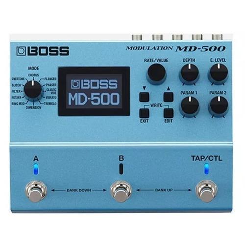 pedal de efectos md-500 boss