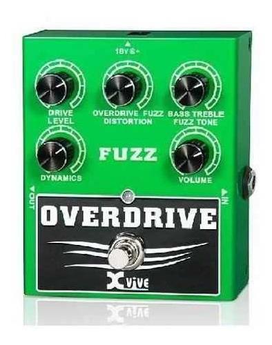 pedal de efectos overdrive fuzz xvive