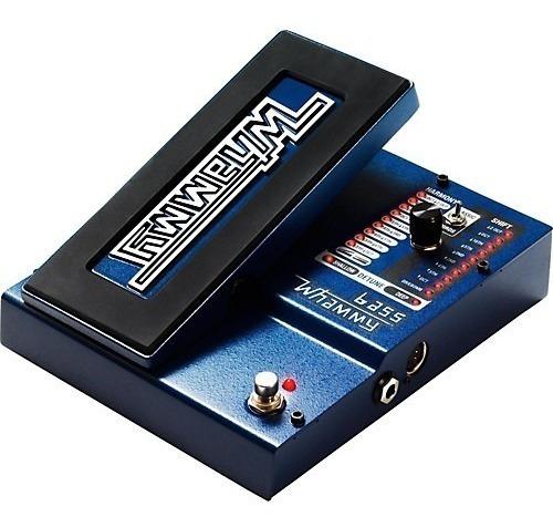 pedal de efectos para bajo digitech bass whammy