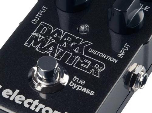 pedal de efeitos tc electronic dark matter distortion-30%off