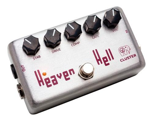 pedal de fuzz distorsión p/ guitarra | cluster heaven & hell