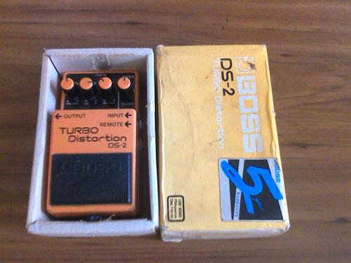 pedal de guitarra boss turbo distortion ds-2 poco uso