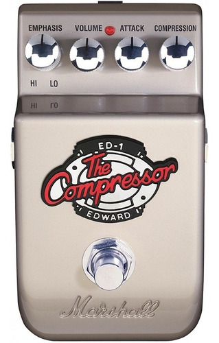 pedal de guitarra marshall ed1 the edward compressor