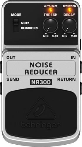 pedal de guitarra redutor de ruido - behringer nr300