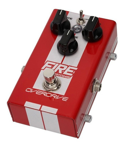 pedal de overdrive para guitarra - fire custom shop