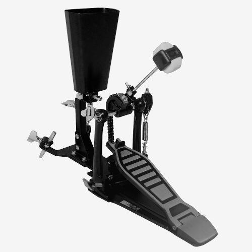 pedal de pie con soporte de cencerro parquer doble cadena
