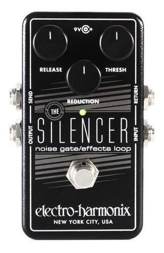 pedal de reduccion de ruidos electro harmonix silencer