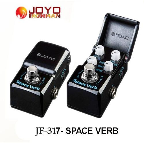 pedal de reverb joyo jf-317 space verb - envio em 24 horas