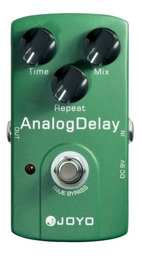 pedal delay joyo jf33 analógico efectos guitarra