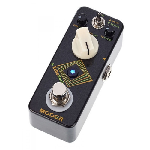 pedal delay reverb mooer echoverb