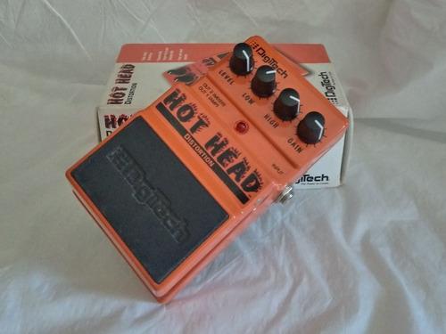 pedal digitech hot head distortion