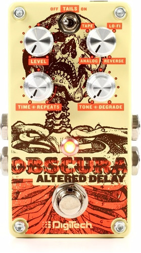 pedal digitech obscura altered delay - nuevo