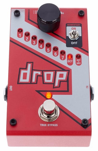 pedal digitech the drop tune pitch shifter - loja autorizada