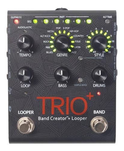 pedal digitech trio band creator plus looper