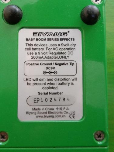 pedal distorsión, baby boom! mad driver