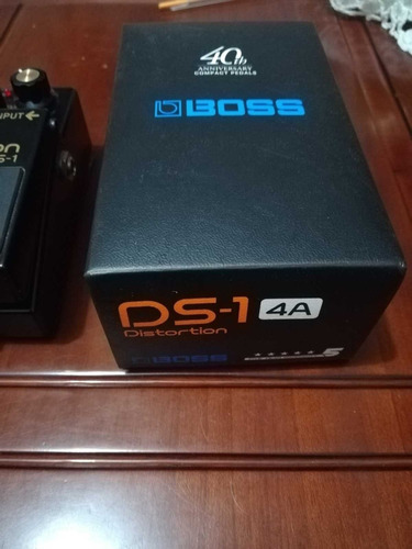 pedal distorsion boss exclusivo