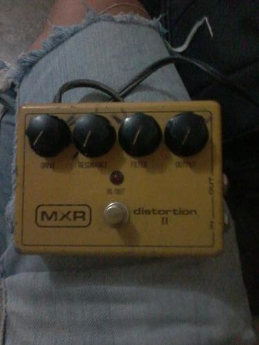 pedal distorsion mxr ii