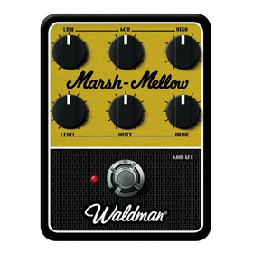 Pedal Distortion Marsh-mellow Waldman Mar-6fx