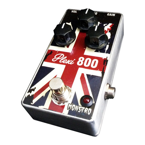 pedal distortion plexi 800 marshall clássico tipo lovepedal
