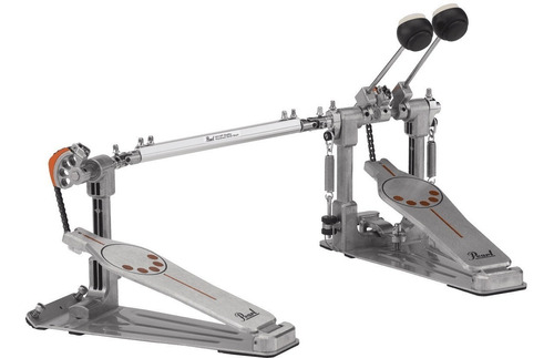 pedal doble bombo pearl p-932 doble pedal cadena simple