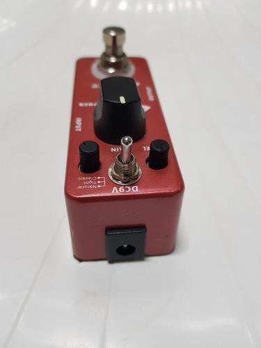 pedal donner morpher distortion - super conservado!!!