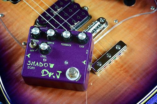 pedal dr j shadow echo delay & modulación pitch shifter