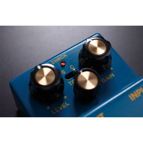 pedal driver waza craft custom blues boss bd-2w + garantía