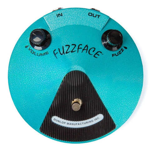 pedal dunlop jhf1 jimi hendrix fuzz face