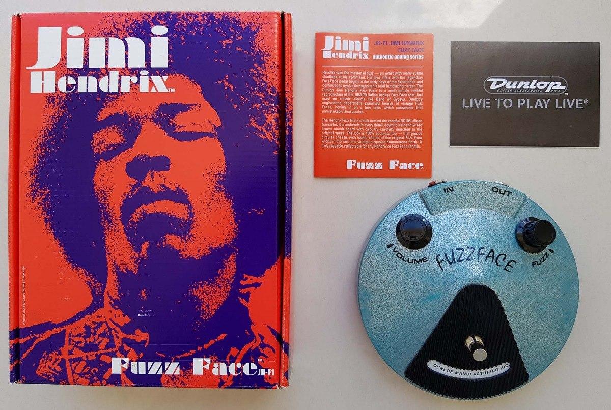 Pedal Dunlop Jimi Hendrix Fuzz Face Jhf1 R 75000 Em Mercado Livre Carregando Zoom