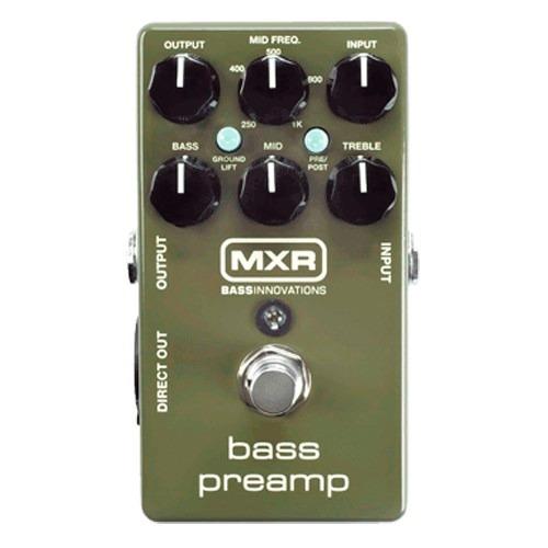 pedal dunlop mxr bass preamp m81