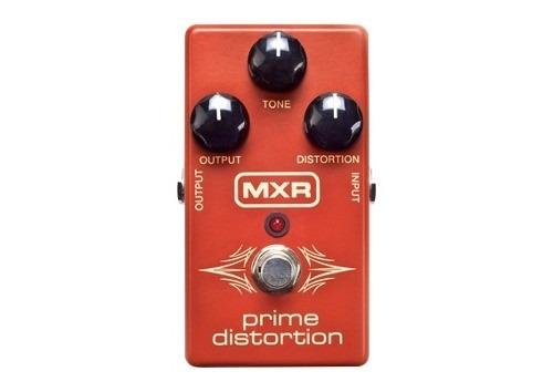 pedal dunlop mxr m69 prime distortion guitarra c/nota fiscal