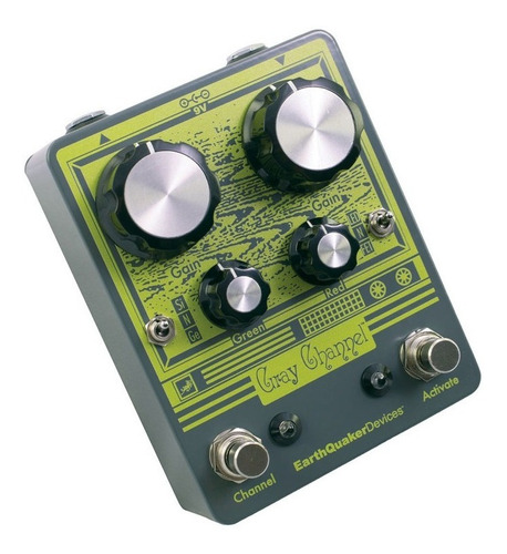 pedal earthquaker devices gray channel double usa - oddity