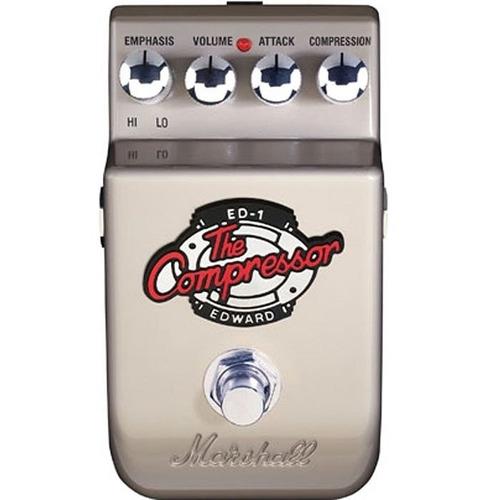 pedal ed-1 marshall compressor guitarra controles de volume