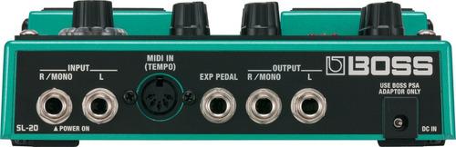 pedal efecto boss sl20 + garantia