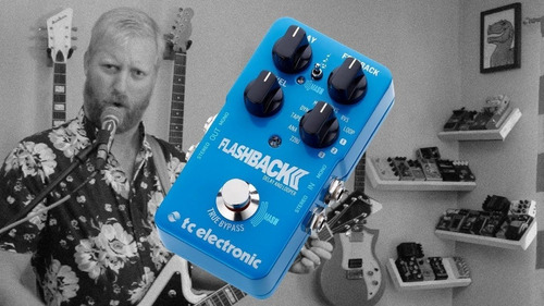 pedal efecto -boss tc electronic flashback delay and looper