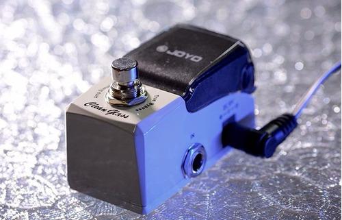 pedal efecto -emulador de amp joyo jf307 cleanglass ironman