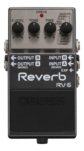 pedal efecto guitarra boss reverb & delay rv-6