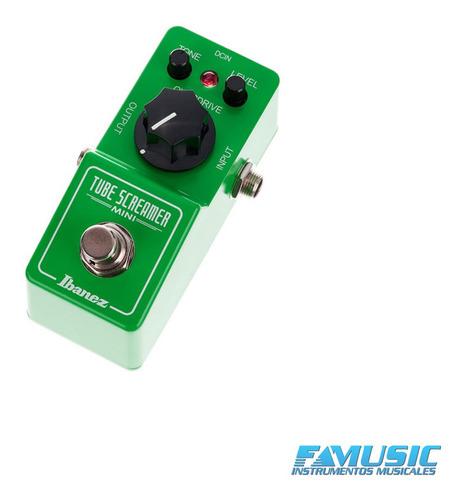 pedal efecto guitarra ibanez ts-mini tubescreamer