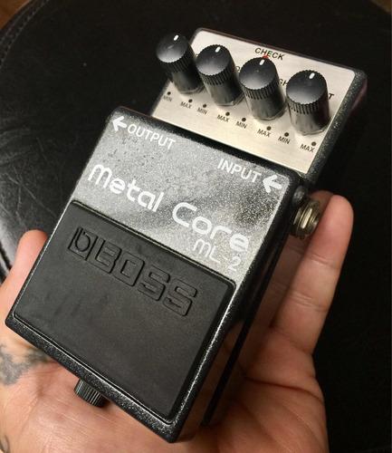 pedal efecto metal core boss ml-2